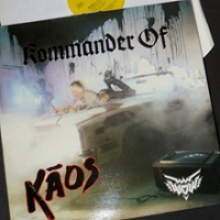 Rare KOMMANDER OF KAOS (KOK) Orignal 1986 Zebra/Dream/Cherry Red Vinyl Release