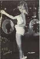 EXTREMELY RARE ORIGINAL WENDY O. WILLIAMS 1980 SHAVING CREAM POSTER