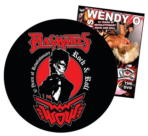 11' VINYL COLLECTORS LIMITED EDITION PIC DISC Plus 10 YEARS OF REVOLUTIONARY ROCK AND ROLL DVD